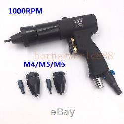 Pneumatic Riveting Tool Self-Locking Pneumatic Pull Setter Air Rivet Nut Gun 802