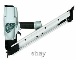 Pneumatic Strip Nail Gun 2-1/2, No NR65AK2, Hitachi Power Tools