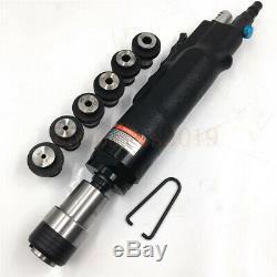 Pneumatic Tapping Machine Air Drill Tapper Tool Universal 400rpm & M3M12 Chucks