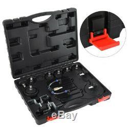 Portable Pneumatic Air Pressure Tool Kit Brake&Clutch Bleeder Valve System Kit
