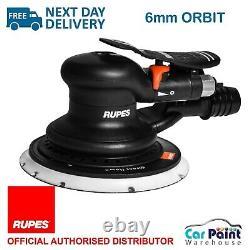 RUPES Skorpio MKIII Orbital Air Pneumatic H&L Palm Sander 150mm 6 6mm Orbit