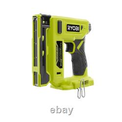 RYOBI Pneumatic Stapler 3/8 in. 18-Volt Cordless Electric (Tool Only)