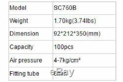 SC7C Pneumatic C Ring Gun Air Nail Hog Plier Naier Tool Woodworking Accessories