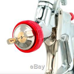 SPRAYIT LVLP Gravity Feed Spray Gun Paint Sprayer Air Compressor Pneumatic Kit