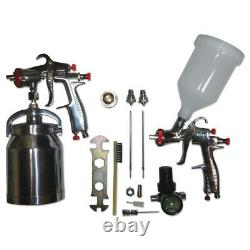 SPRAYIT SP33310K LVLP Spray Gun Air Tool Kit with Extra Spanner and Brush New