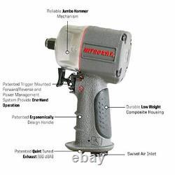 Small Impact Wrench Air 3/8 Inch for Gun Mechanic Pneumatic Bolt Short Stubby A