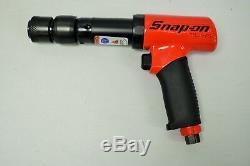 Snap On PH3050BR Pneumatic Long Barrel Super Duty Air Hammer Red (2500 BPM)