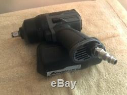 Snap On PT850GMG 1/2 Drive Pneumatic Impact Wrench Air Tool with Rubber Boot