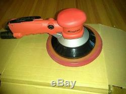 Snap-on 8 PS4809 Geared Pneumatic Air Orbital Sander Adjustable Grip New