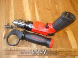 Snap-on Pdr3000 Pneumatic Reversible Air Drill 3/8 Jacobs Chuck USA Made Tool