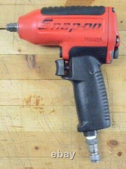 Snap-on Tools 3/8 Drive Air Impact Wrench Gun Pneumatic Tool Mg325 USA