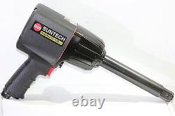 Suntech 1 Drive Pneumatic Air Impact Wrench 6 Extended Anvil Twin Hammer