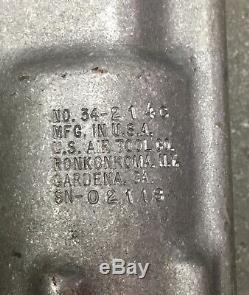 U. S Air Tool Co. C- Yoke Pneumatic Rivet Squeezer Model 34-214C