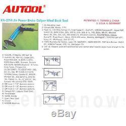 Universal 80-100 PSI Air Powered Pneumatic Brake Piston Caliper Wind Back Tool