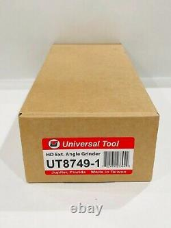 Universal Tool 4-Inch Pneumatic Heavy Duty Extended Angle Head Grinder 1.0 HP
