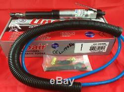 Unoair Air Die Grinder Extended Industrial DG-GS38L 18000RPM Pneumatic Tool 1/4