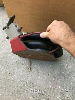 Used Unitec RakJak Air Pneumatic Bottle Floor Lift Jack Automotive Tools