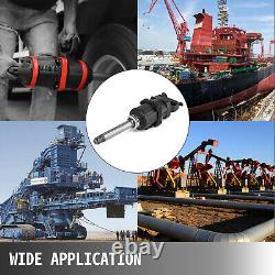 VEVOR 2070 ft. Lbs Air Impact Wrench 1 Drive Pneumatic Wrench 8 Extended Anvil