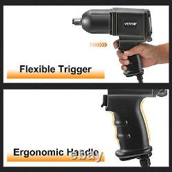 VEVOR 3/4 Air Impact Wrench 1350ft/lb Twin Hammer Pneumatic 6-Torque Position