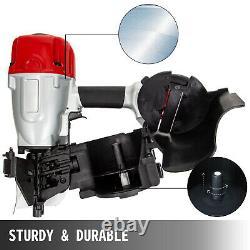 VEVOR CN90 Coil Nailer 3-1/2 15 Deg. Pneumatic Roofing Siding Nailer Nail Gun