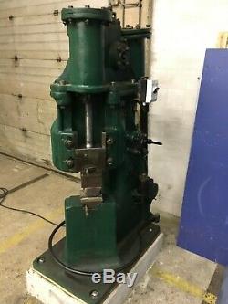 Vintage Massey Air Pneumatic Blacksmith Powerhammer
