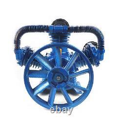 W-Type 3 Cylinder Air Compressor Pump Motor Head Air Tool 7.5KW 10HP 175PSI