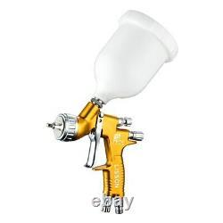Yellow GTI PRO LITE 1.3mm Nozzle TE20 Tool Pistol Spray Gun Paint Cars